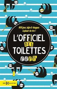 L'officiel des toilettes 2021