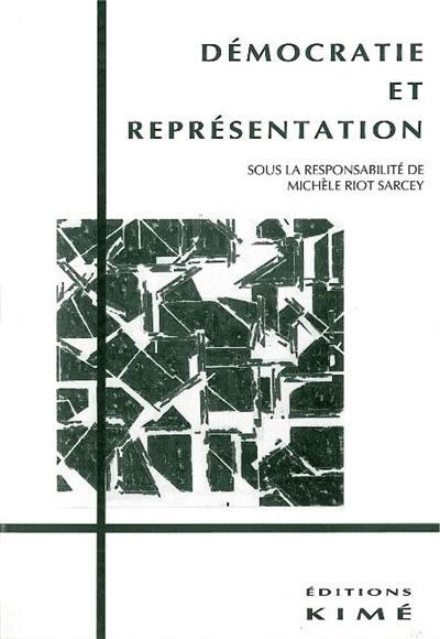 Démocratie et représentation