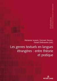Les genres textuels en langues étrangères