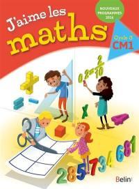 J'aime les maths CM1, cycle 3
