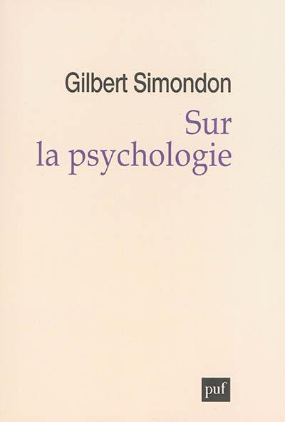Sur la psychologie (1956-1967)