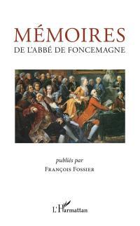 Mémoires de l'abbé de Foncemagne