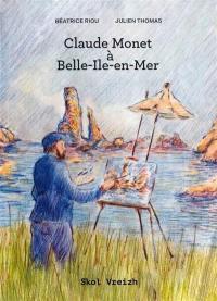 Claude Monet à Belle-Ile-en-Mer