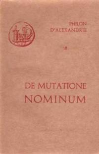 De mutatione nominum