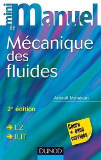 Mini-manuel de mécanique des fluides