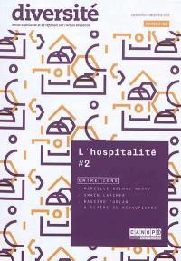 Diversité : revue d'actualité et de réflexion sur l'action éducative. n° 196, L'hospitalité (2)
