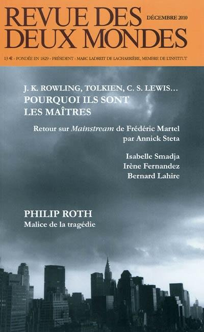 Revue des deux mondes, J. K. Rowling, Tolkien, C. S. Lewis...