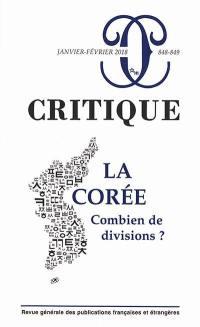 Critique. n° 848-489, La Corée