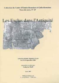 Les exclus dans l'Antiquité