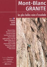 Mont-Blanc granite. Volume 3, Charpoua, Talèfre, Leschaux