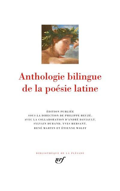 Anthologie bilingue de la poésie latine