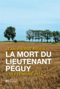 La mort du lieutenant Péguy
