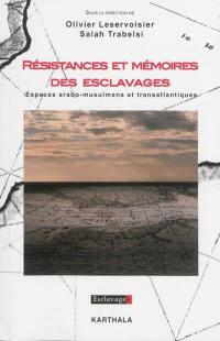 Résistances et mémoires des esclavages