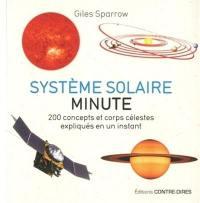 Système solaire minute