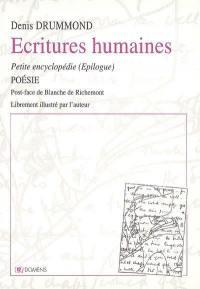 Petite encyclopédie. Volume 3, Ecritures humaines