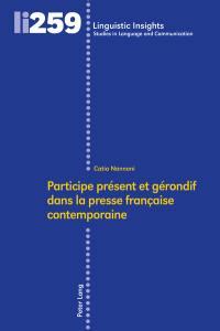 Participe présent et gérondif dans la presse française contemporaine