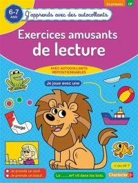 Exercices amusants de lecture