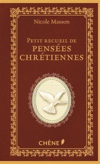 Petit recueil de pensées chrétiennes
