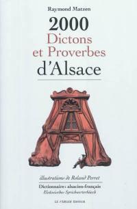 2.000 dictons et proverbes d'Alsace