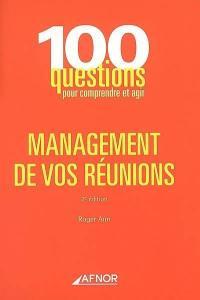 Management de vos réunions
