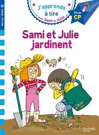 Sami et Julie jardinent