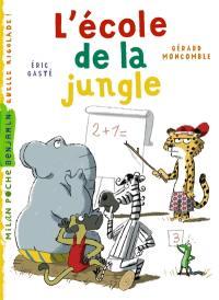 Gaspard le léopard, L'école de la jungle