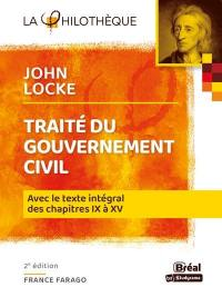 Traité du gouvernement civil, John Locke