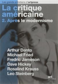 La critique américaine. Volume 2, Après le modernisme