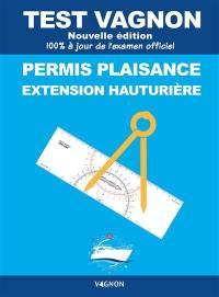 Test Vagnon permis plaisance