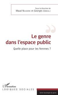 Le genre dans l'espace public