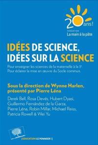 Idées de science, idées sur la science