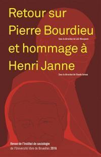 Revue de l'Institut de sociologie. n° 2016, Hommage à Henri Janne