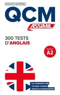 300 tests d'anglais, niveau A2