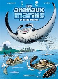 Les animaux marins en bande dessinée. Volume 3,