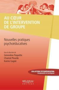 Au coeur de l'intervention de groupe
