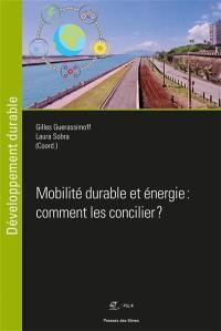 Mobilité durable et énergie