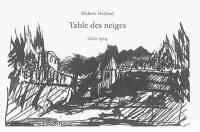 Table des neiges