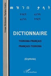 Dictionnaire tigrigna-français, français-tigrigna