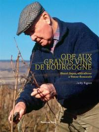 Ode aux grands vins de Bourgogne