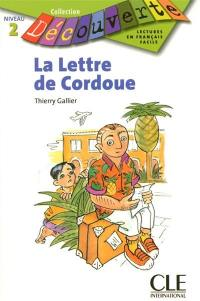 La lettre de Cordoue