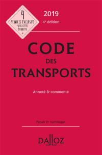 Code des transports 2019