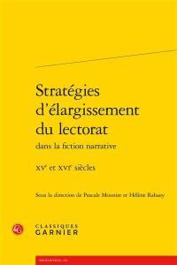Stratégies d'élargissement du lectorat dans la fiction narrative