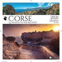 Corse : la passion de nos régions : 2021, calendrier 16 mois