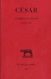 Guerre des Gaules. Volume 2, Livres V-VIII