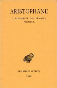 Comédies. Volume 5, L'assemblée des femmes