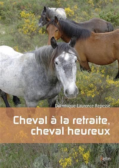 Cheval à la retraite, cheval heureux