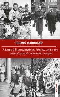 Camps d'internement en France, 1939-1940