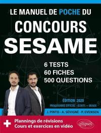 Le manuel de poche du concours Sésame