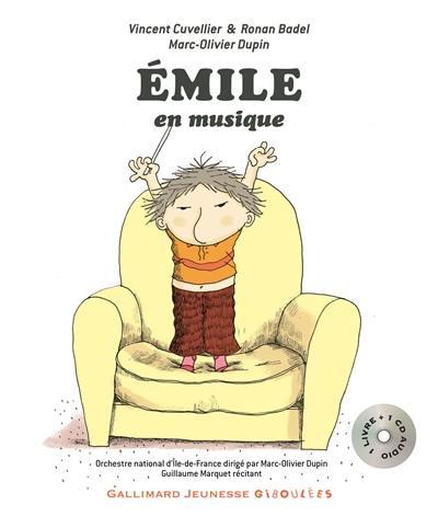 Emile, Emile en musique