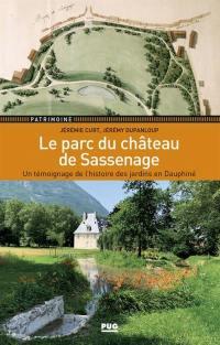 Le parc du château de Sassenage